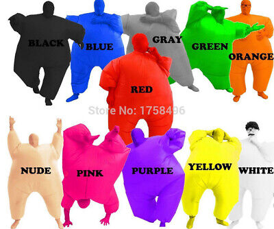 Adult Chub Suit Inflatable Suits Blow Up Blue Green Red Purple Pink 5 - Chub Suits