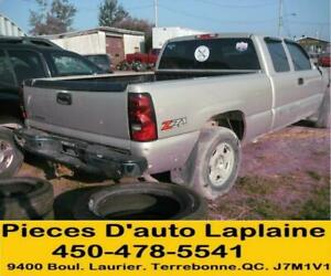 2005 2006 2007 CHEVROLET GMC SILVERADO K1500 5.3 4X4 POUR LA PIECE# PARTING OUT