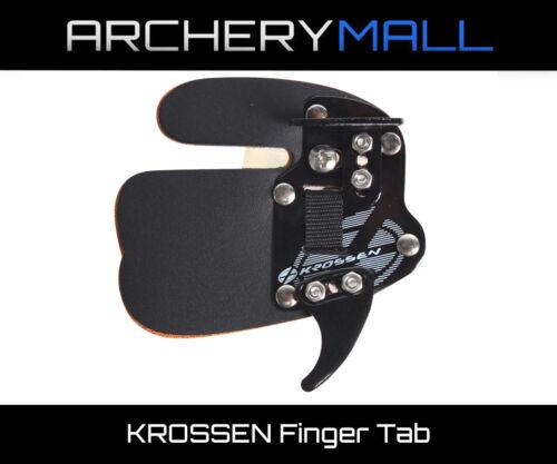 Krossen Archery Finger Tab (Multiple Sizes) - Made by FIVICS