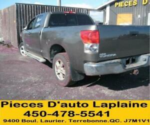 2007 2008 2009 TOYOTA TUNDRA DOUBLE CAB SR5 5.7 4X4 Pour La Piece#Parting out#Piece