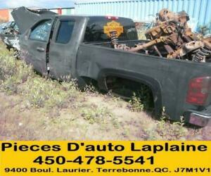 2007 2008 2009 GMC PICKUP SIERRA 5.3L 4X4 POUR LA PIECE- FOR PARTS