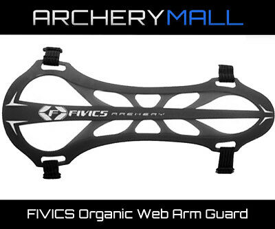 FIVICS Organic Web Arm Guard - Black