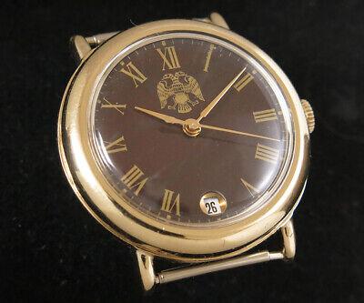 !✯☭RAKETA 2614 Yashma Stone dial Vintage USSR Mechanical watch PCHZ SERVICED✯