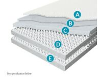 tempur double mattress - warren evans
