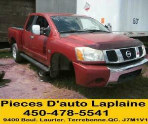 2005 2006 NISSAN TITAN 5.6 4X4 POUR LA PIECES- FOR PARTS