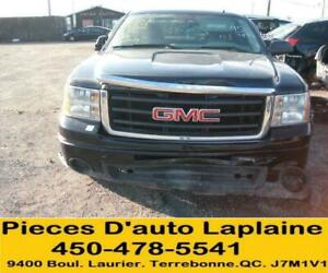2009 2010 GMC SIERRA  PICKUP 4X4 5.3 4DR POUR LA PIECE#PARTING OUT#FOR PARTS