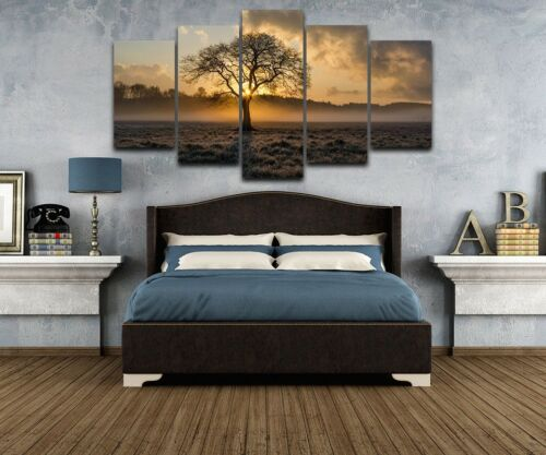"""5-Panel Modern Canvas Home Wall Decor Art Painting Picture Print Unframed 39"""""""