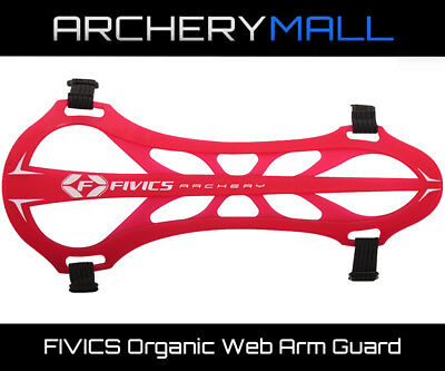 FIVICS Organic Web Arm Guard - Red