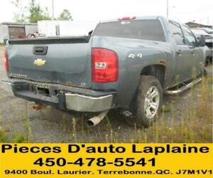 2008 2009 CHEVROLET SILVERADO 1500 5.3 4X4 POUR LA PIECE- PARTING OUT