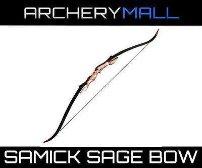 """SAMICK Sage take down recurve bow 62""""(choose RH/LH 20,25,30,35,40,45,50,55 lb"""
