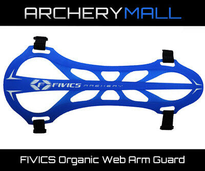 FIVICS Organic Web Arm Guard - Blue