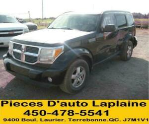 2007 2008 2009 DODGE NITRO 3.7 4X4 POUR LA PIECE- FOR PARTS