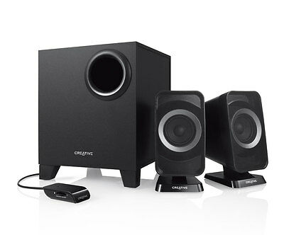 Creative Labs 2.1 Surround Home Theatre Cinema Sound Speakers Bluetooth - TV/PC
