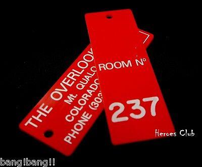 Room 237 Key Tag 1/1 Prop Overlook Hotel  Moon Room Kubrick The Shining L@@K