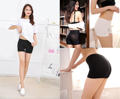 Fashion Women Pants Safety Shorts Pants Yoga Basic Plain Seamless Panties