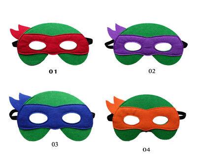 Kids Mask Ninja Turtles Masks Cosplay Children Gift Xmas Costume Party   (Ninja Turtles Mask)