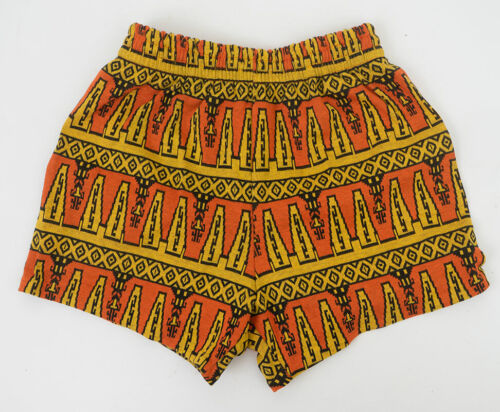 Unworn Deadstock 1960s Swim Trunks Aztec Influenced Print Multiple Sizes