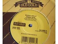 Buddy holly record Peggy sue collectable vintage more