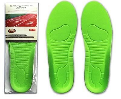 2 Paar Sportsohlen für besseren lauf Komfort | Schuheinlagen | Einlegesohle