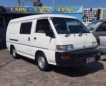 06 Mitsubishi Express 2.4L MWB dual door van/ camper 226KM $6999 South Brisbane Brisbane South West Preview