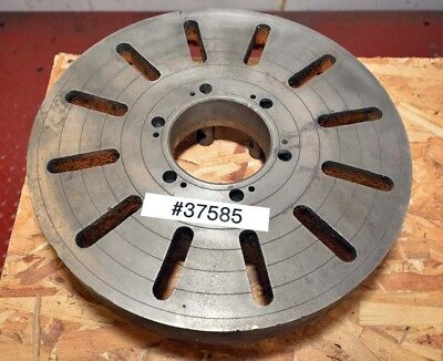 15 Inch Cast Iron Face Plate D1-6 Mount Inv.37585
