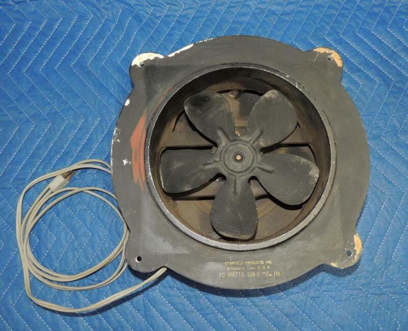 Starfield Products Inc. Darkroom Ventilator Exhaust Fan Made in USA