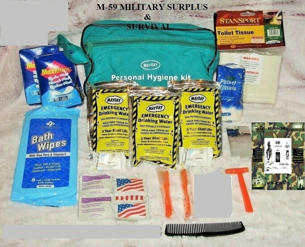 1-Mayday Emergency/Survival/Disaster Deluxe Personal Hygiene