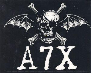 AVENGED SEVENFOLD Music Sticker A7X DEATHBAT S5228