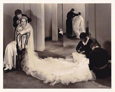 EVELYN VENABLE Vintage COSTUME CANDID Studio Set VAGABOND LADY MGM STAX Photo