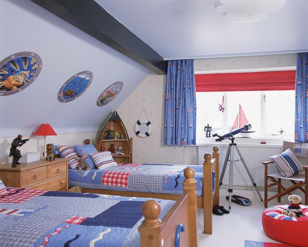 Nautical themed bedroom for boys - Boys Bedroom With Nautical Theme