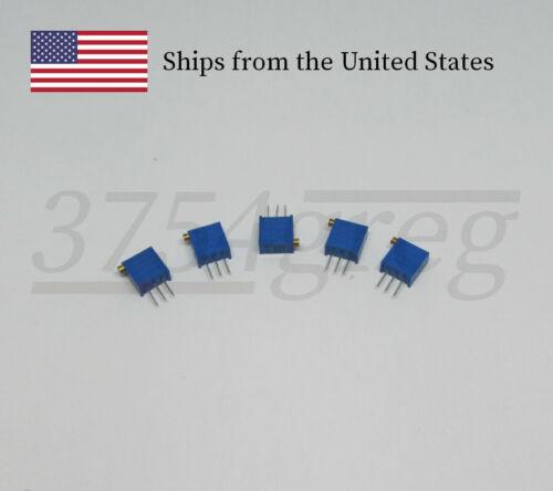 3296X-103 Side Adjustment 10K Ohm Trimmer Potentiometer 10 Pack