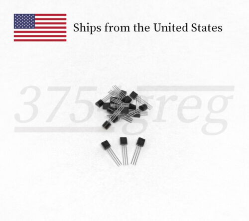 20, 50, or 100pcs Unbranded 2N2222A General Purpose NPN Transistor TO-92 GENERIC