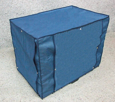 """Dog Crate Canvas Cover with 2 Doors [24"""" Small]"""