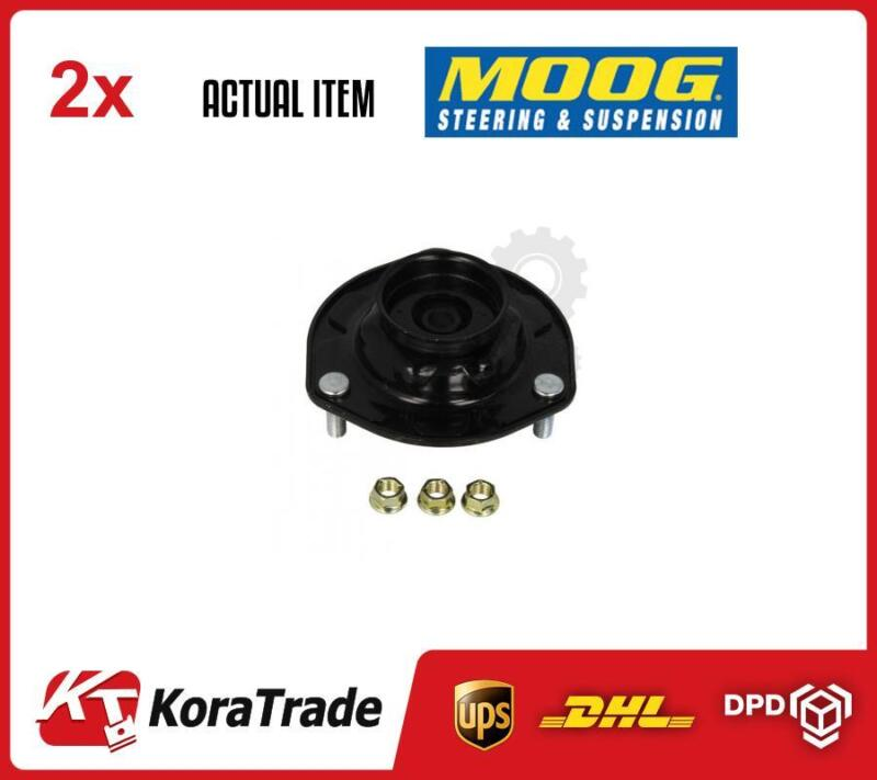 2 x FRONT LEFT RIGHT MOOG SHOCK ABSORBER TOP MOUNT CUSHION SET TO-SB-10035