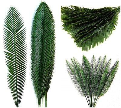 12 Strauß (12 St.Palmwedel Kunstpalmen Künstliche Blätter Deko künstliche Floristik Strauß)
