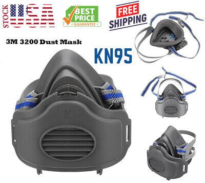 Respirator Mask Half Face Safety Facepiece Reusable Gas Mask Painting Spraying