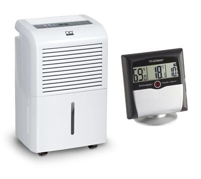 Remko ETF 360 Luftentfeuchter + Comfort Control Thermo-Hygrometer mit Alarm