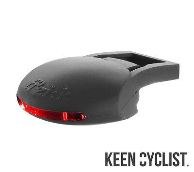 Fizik ICS Blinking LED Rear Saddle Light - Black