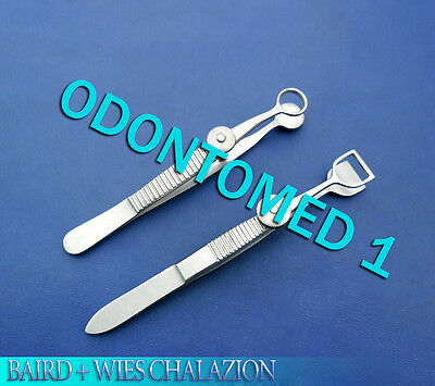 2 O.r Grade Baird Wies Chalazion Ophthalmic Eye Minor Micro Surgery Forceps