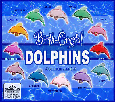 Vending Machine 0.500.75 Capsule Toys - Birth Crystal Dolphins