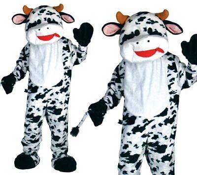Deluxe Kuh Outfit Maskottchen Sport Sport Herren Verkleidung Kühe Kostüm
