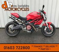 DUCATI MONSTER 696 SPECIAL LOW MILES RED CARBON