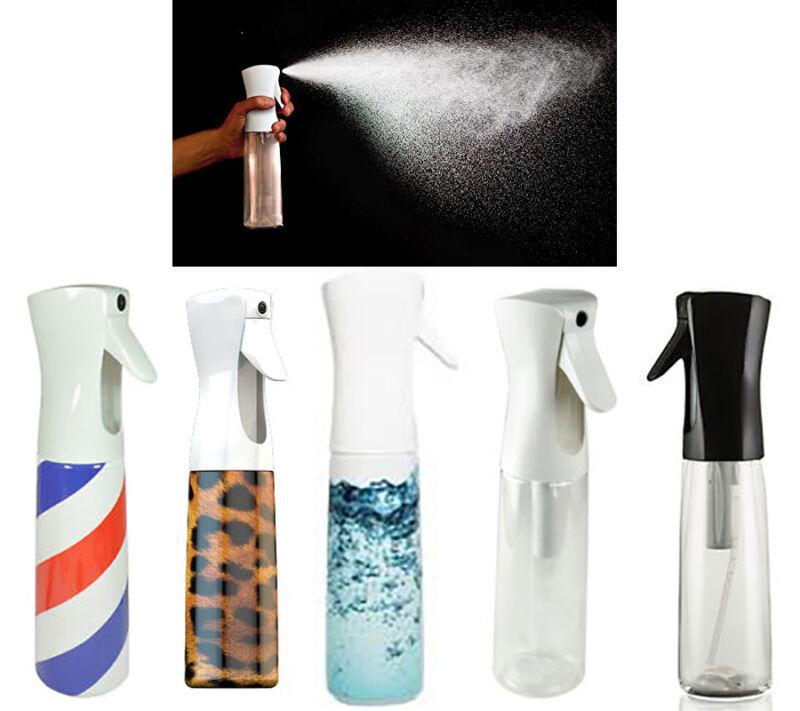 Flairosol Continuous Fine Mist Barber Stylist Spray Bottle 10oz; Multiple Design