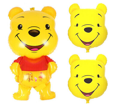 Bear Balloon (Winnie the Pooh Bear Balloon, Birthday Baby Shower Party Decorations)