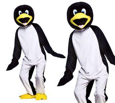 Cool Pinguin Weihnachten Krippenspiel Play Maskottchen Erwachsene Maskenkostüm
