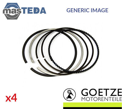 4X New Engine Piston Ring Set Goetze Engine 08 440200 00 I Std Oe Replacement