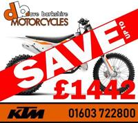 KTM 125 / 150 / 250 SX 2019 SAVE UP TO £1442
