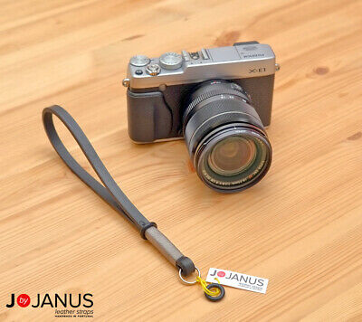 Leather Camera Wrist Strap | Leica M Fuji X100 XT PRO Olympus...