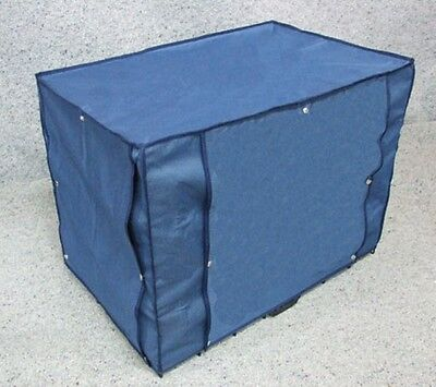 """Dog Crate Canvas Cover with 2 Doors [36"""" Large]"""