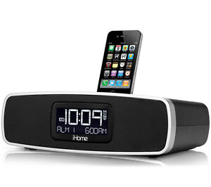 iHome iP90BZ Dual Alarm Clock Radio for your iPhone/iPod with AM/FM presets